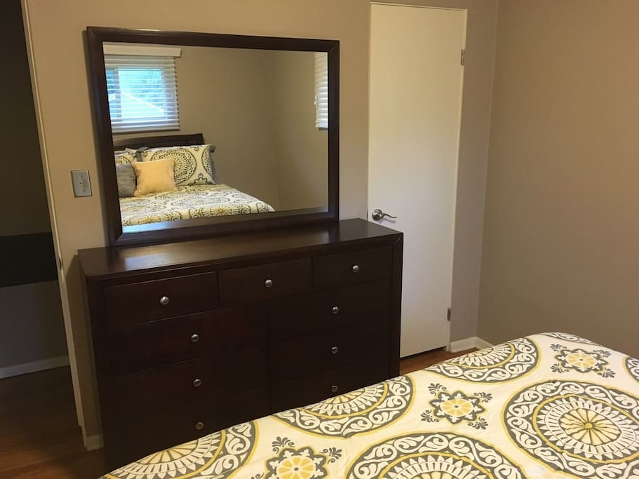 Full Access to Closet and Dresser