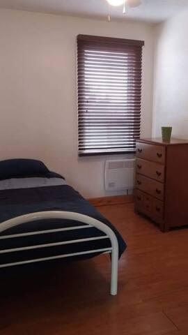 Chambres sur le campus universitaire.