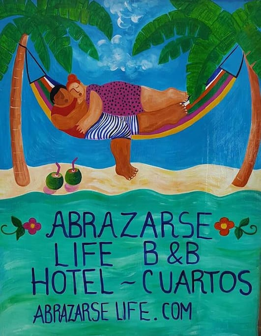 Abrazarse Life, hangout like you are at home.