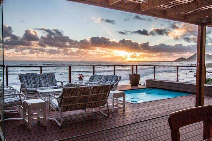 Family home - on beach - serviced