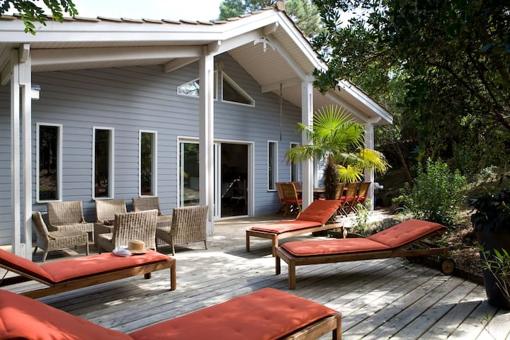 Agréable et confortable maison en bois - Lège-Cap-Ferret - Ev