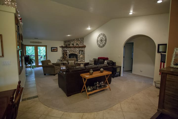 Upstairs Living room/common space