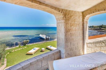 Villa Blanca on the tuquoise see of Stintitno - Pischina Salidda