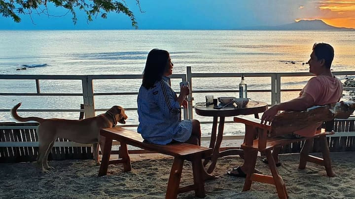 Anna's Ocean View Beachfront Home for up to 15 pax