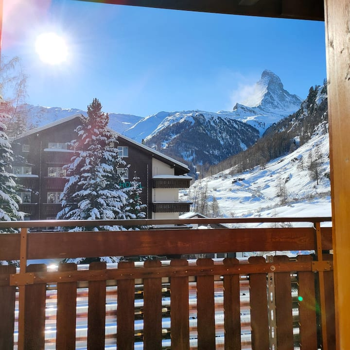 Sun Valley Lodge  Studio Lodge Süd / South facing studio view to the Matterhorn 11