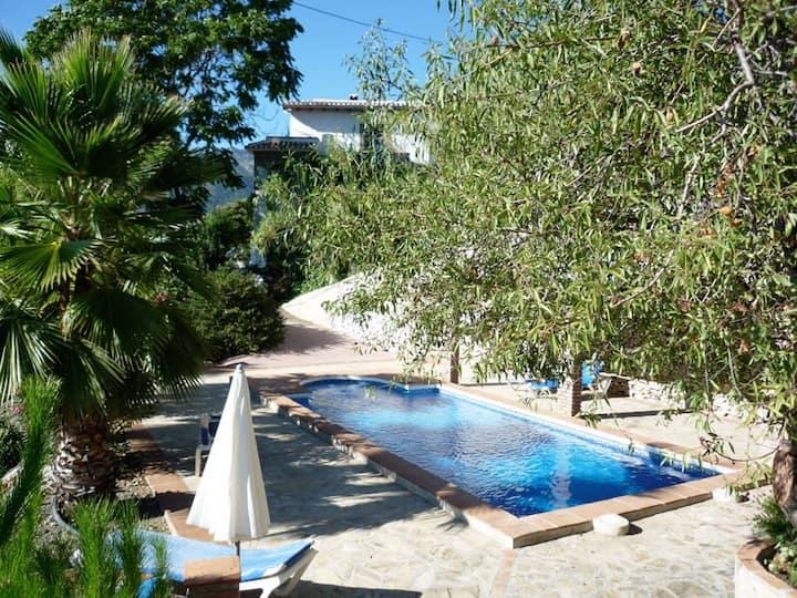 Buena Vista,3 pers,piscine,sauna,vue panoramique