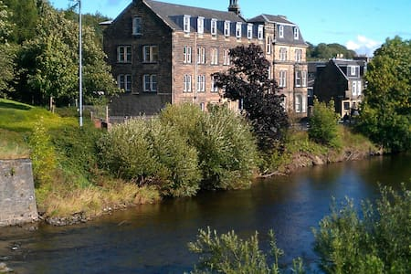 A warm and friendly B&B apartment in Hawick.. - Hawick