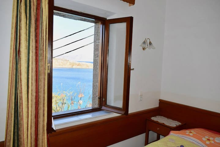 Sea view from double bedroom