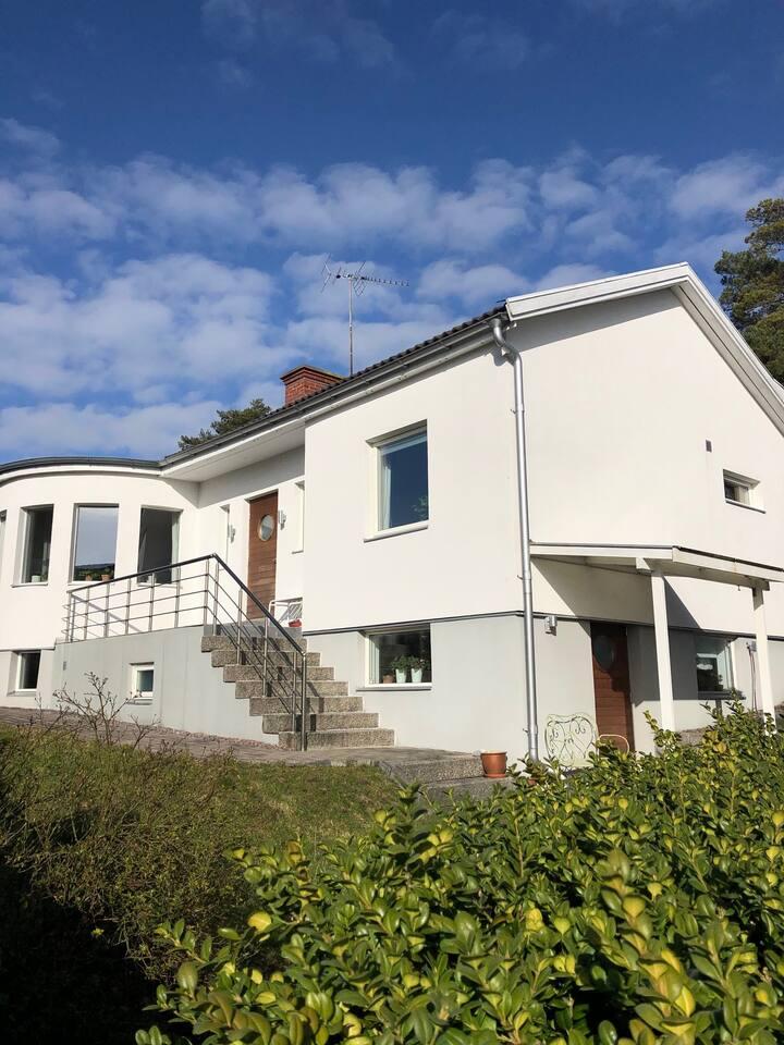 Havsnära villa i Fiskebäck- 10 min från Göteborg