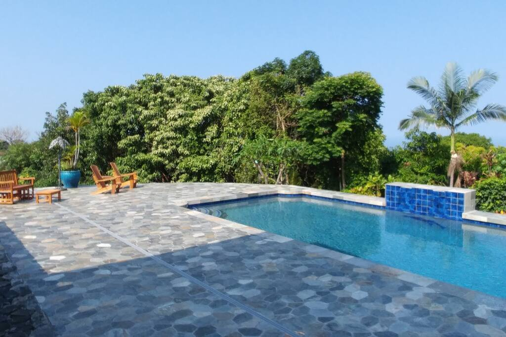 Redesigned Pool Area