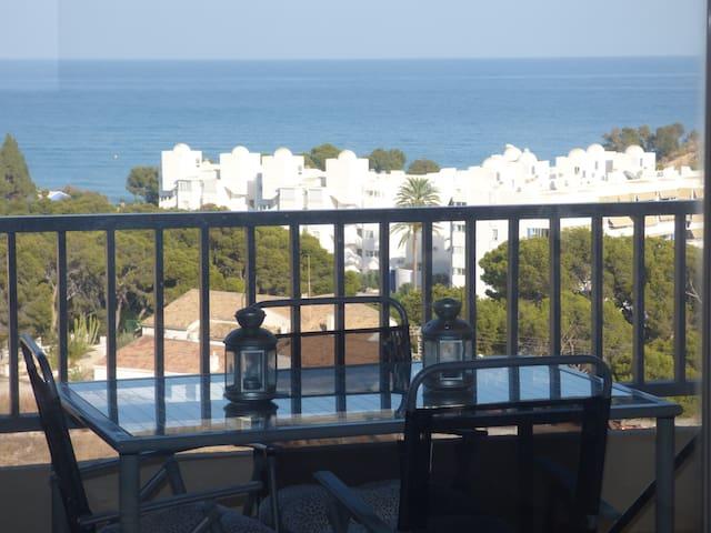 Apartamento con vistas al mar en Villajoyosa