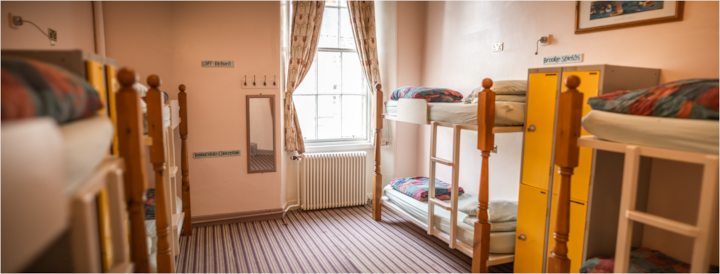 8 Bed Mixed Dorm Edinburgh Centre