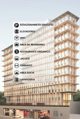 Grate Apartment - Zona 10 - Guatemala Ciudad