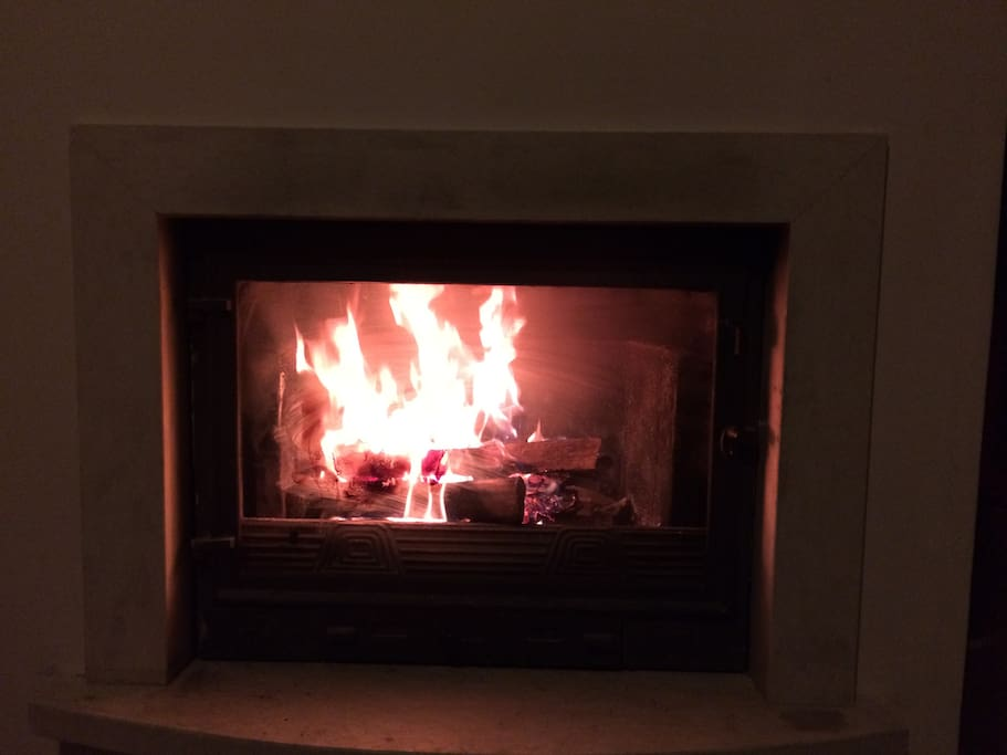 There is nothing like warm fire when it is freezing outside