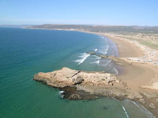 PLAGE TAMGHART/TAGHAZOUT