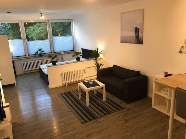 Studio Apartment direkt im Zentrum & 24h Check-In