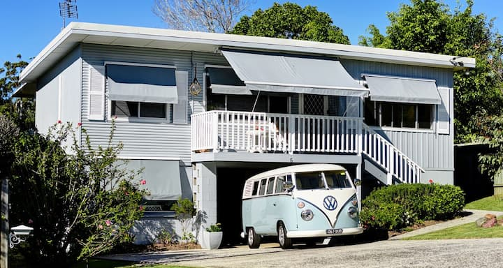 The Moonee Beach house