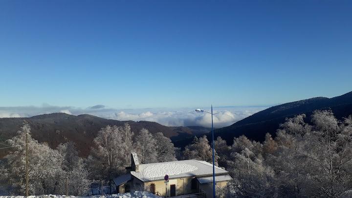 Studio 2ème étage station ski Monts d'Olmes
