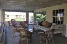 Other patio and daybed