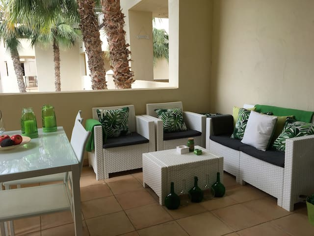 Precioso apartamento en Roda Golf & Beach Resort - San Javier - Appartement