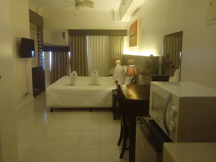 Hotel-like comforts.