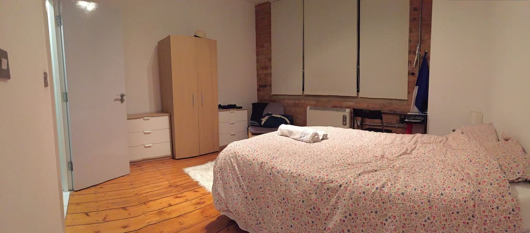 Large ensuite Room -  Private Bathroom and Toilets - Londres - Loft