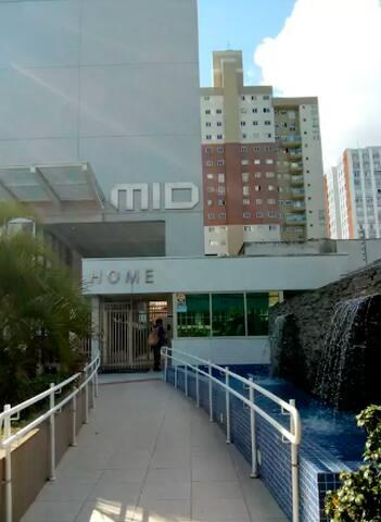 Studio 1508 Ed. Mid, Centro com wi-fi.