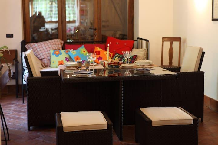 sala dove serviamo colazione, pranzo o cena