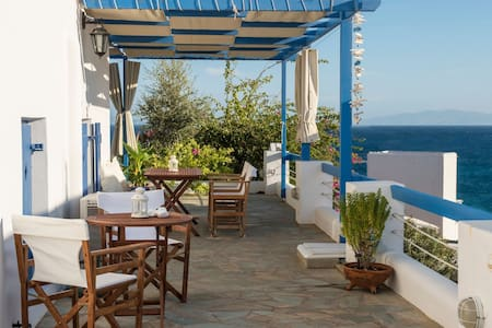Aphrodite | 1 Bedroom Home with Sea View & Patio