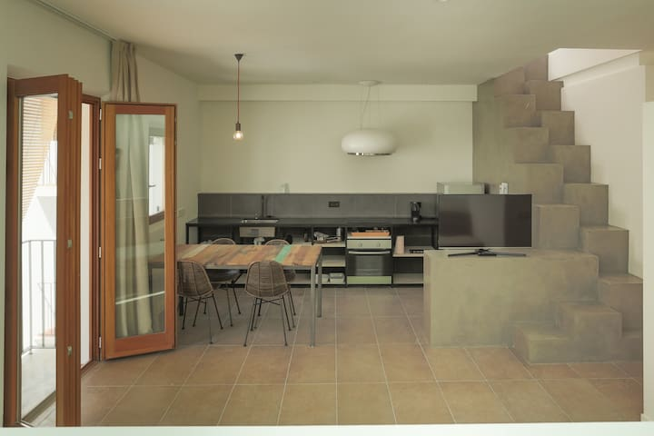 APARTMENT XERECA-PENTHOUSE-IBIZA PORT-WITH TERRACE - Eivissa - Apartment