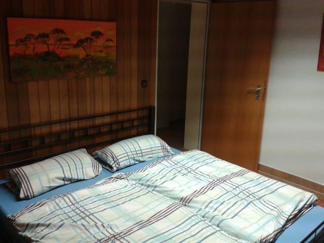 Gute Nacht im 2,00x180m Doppelbett