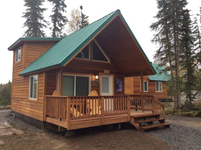 Alaska Kenai River Fishing Cabin # 2 Moose Cabin - Soldotna - Sommerhus/hytte