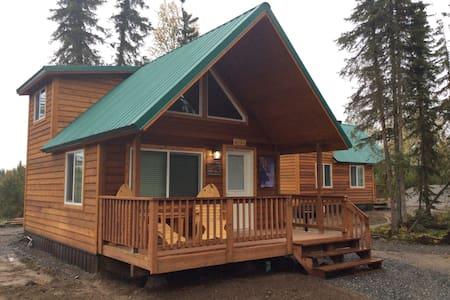 Alaska Kenai River Fishing Cabin # 2 Moose Cabin - Soldotna - Cabane