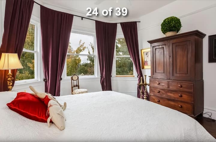 Charming Victorian Park Room Full