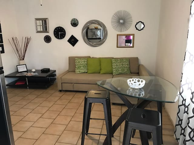 Best 1br for 6/Steps Beach & Airprt - Carolina - Daire