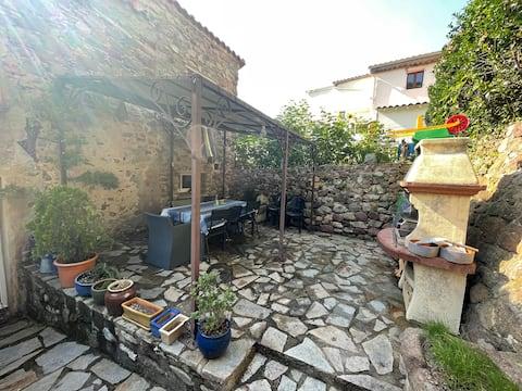 Cottage dans le village le plus au sud de France