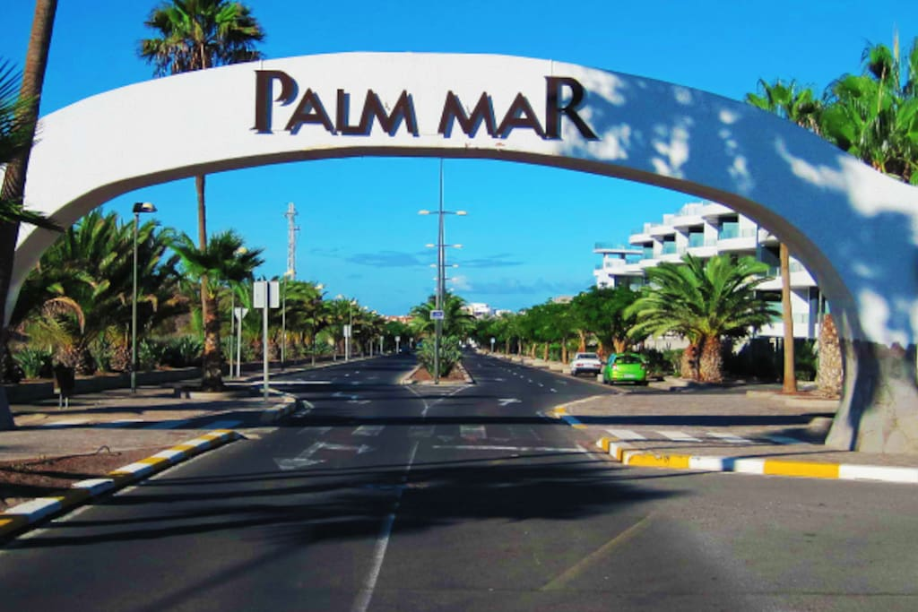 Entrance to Palm-Mar
