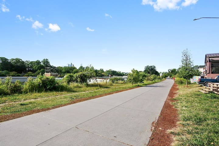 Take a run or walk on the beltline