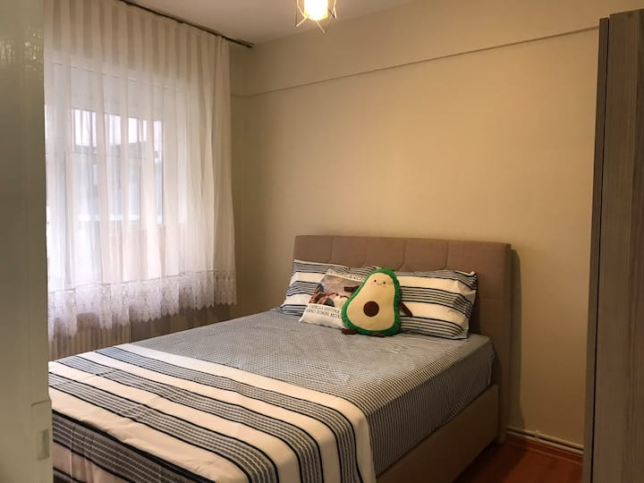 The cozy room w/balcony in the heart of Beşiktaş
