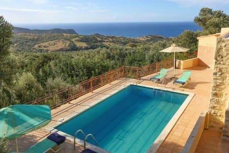 Relax in villa Estella triopetra kreta - Triopetra - Haus