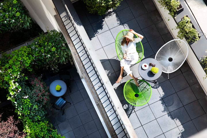 Lovely Room with terrace in Paris - Free breakfast