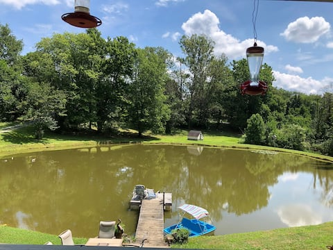 Golden Pond Escape-Calcutta OH-Relaxing Experience