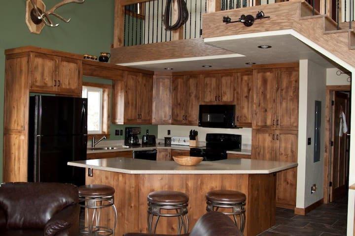 Daniel Bunkhouse.  Rustic cabin in Daniel, WY.