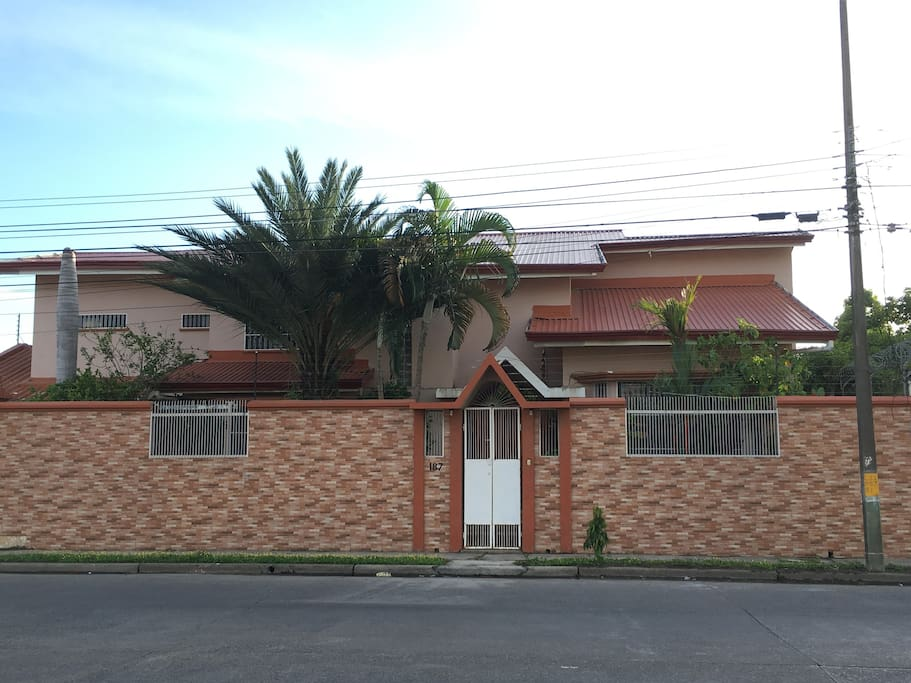 Street view of house