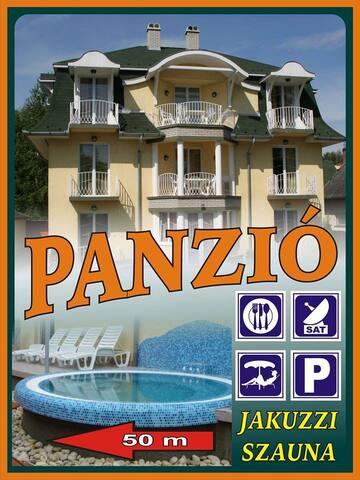 Balatonparti Sziszi Panzió - Balatonboglár