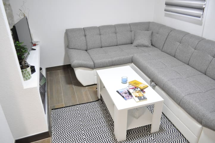 New, cozy apt at BAŠČARŠIJA with FREE PARKING