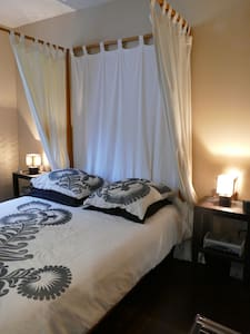 Chambre avec sdb dans jolie maison atypique - Chanteloup-les-Vignes - 一軒家