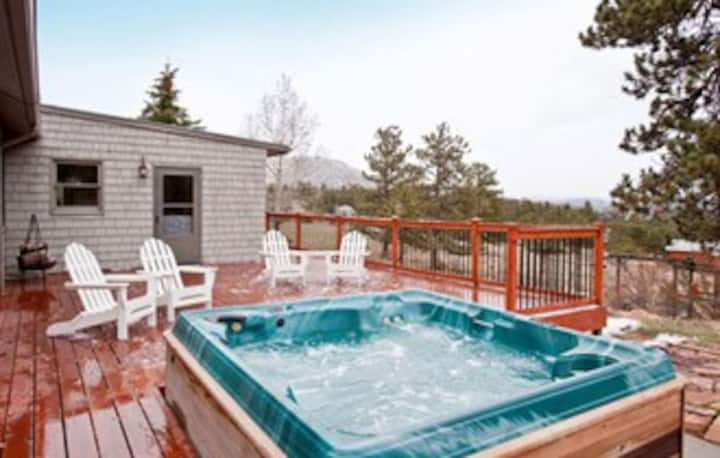 Longs Peak Views, Large Deck & HT