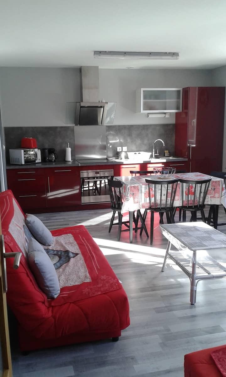 Appartement tout confort dans les Hautes Vosges