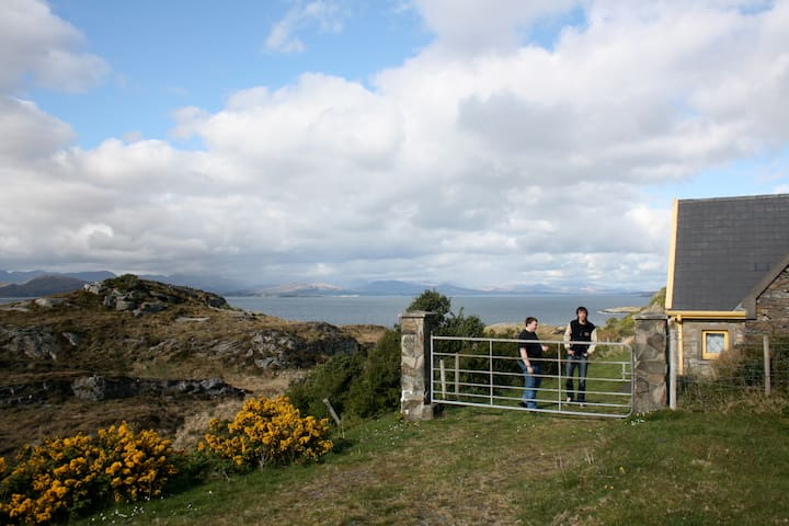 Pigeon House magical hideaway Beara - Derryvegal - Talo